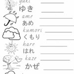 Weather - Write Hiragana