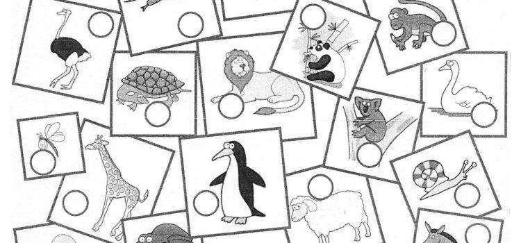 hiragana practice with animals