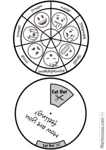 Japanese activity feelings wheel