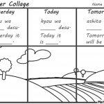 Weather Collage Days Worksheet