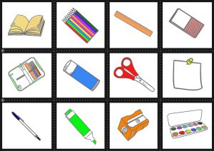 Japanese Class Objects Flashcards