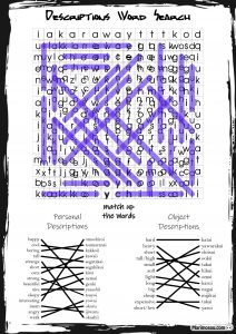 Japanese word search answers