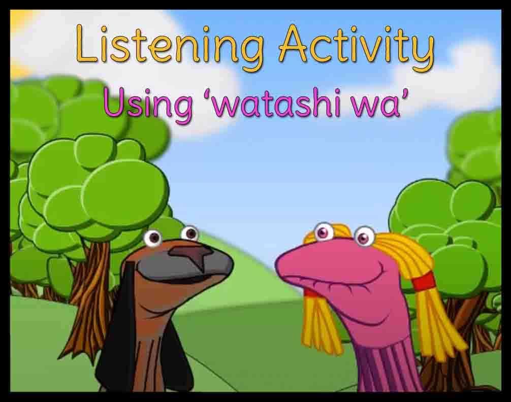 Japanese listening task