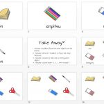 Classroom Objects Slide (x6) + Take Away Game